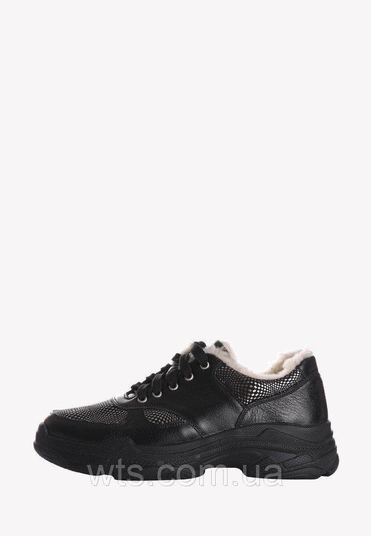 VM-Villomi Зимние кожаные женские кроссовки на высокой подошве