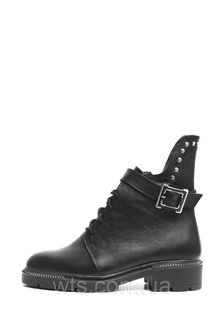 VM-Villomi Кожаные зимние ботинки с пряжкой