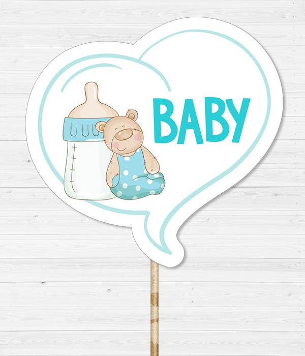 """Табличка для фотосессии """"Baby"""""""