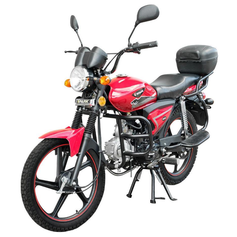 Мотоцикл SPARK SP125С-2ХWQ, 120 куб.см, двухместный дорожный