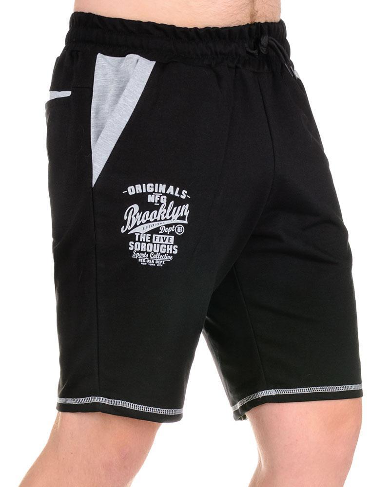 Мужские шорты «BROOCLYN» черный