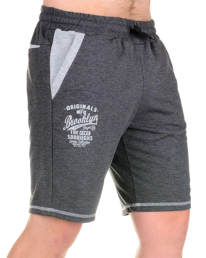 Мужские шорты «BROOCLYN» антрацит