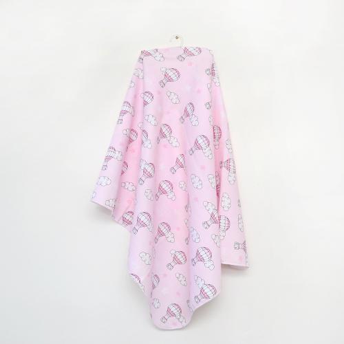 Пеленка муслиновая 120*100 розовая MINIKIN 2015214
