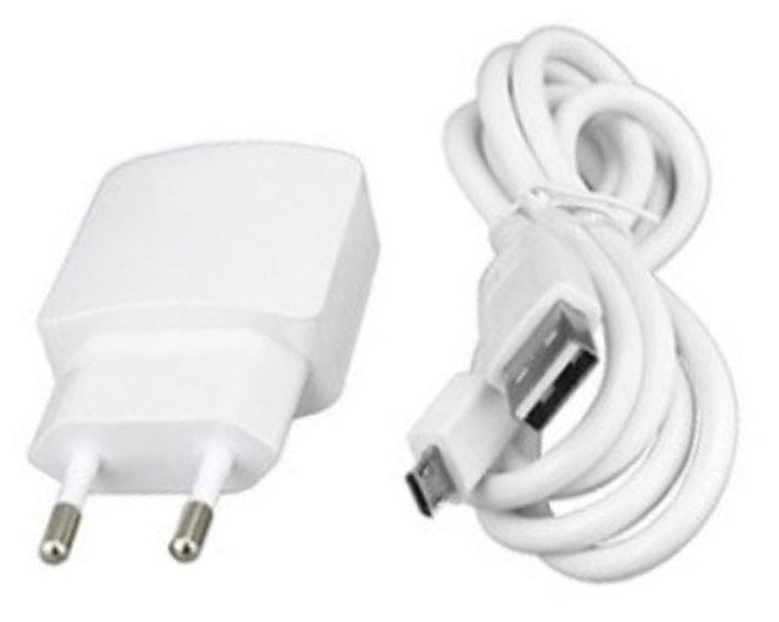Зарядное устройство Lenovo 2in1+ кабель 2.0A Белый