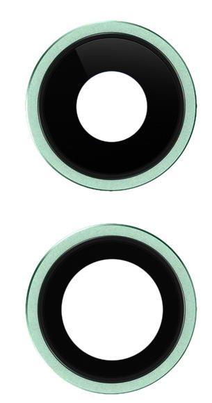 Стекло камеры для Apple iPhone 11 Зеленый