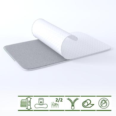 Тонкий матрас-топпер GS OrthoLinum Soft 70х190 см