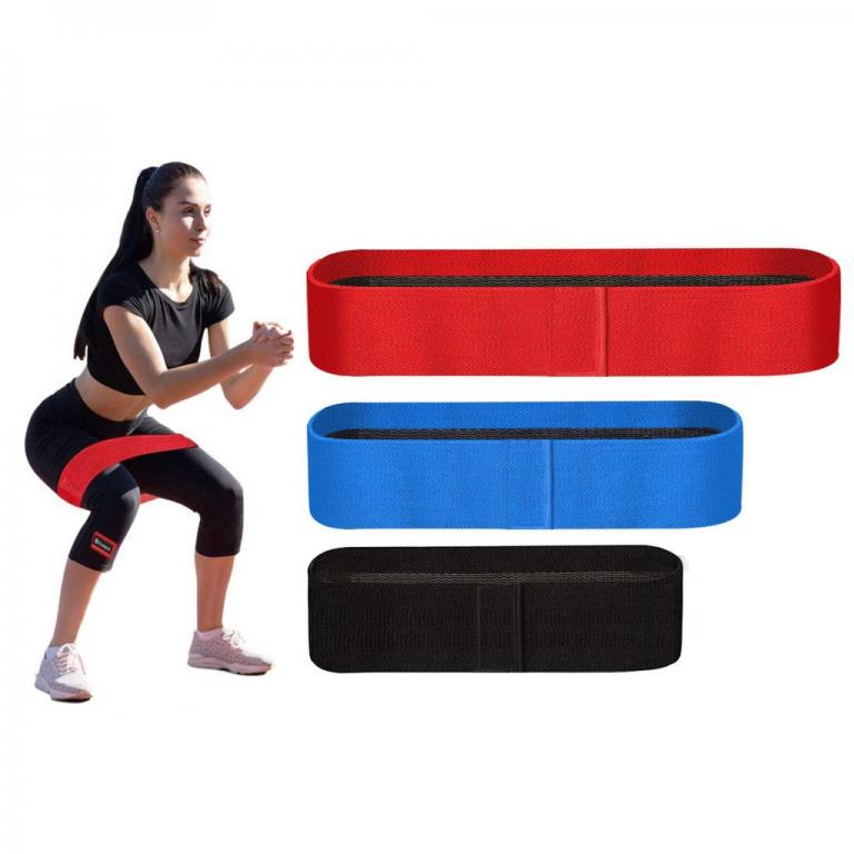 Тканевые фитнес резинки Core-Set ( Set of 3)