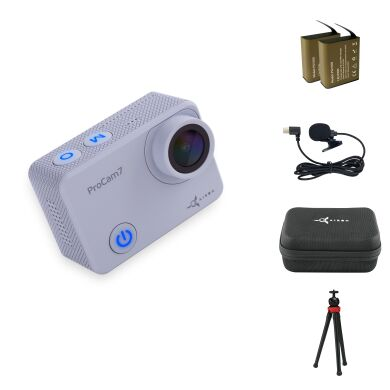 Набір для блогера 12 в 1: екшн-камера AIRON ProCam 7 Touch з аксесуарами