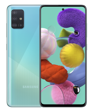 Смартфон Samsung Galaxy A51 6/128 Blue (SM-A515FZBWSEK)