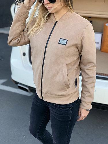 Женская куртка замшевая Philipp Plein beg.Size S/L/XL