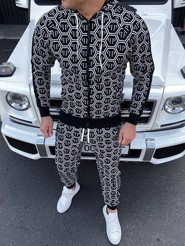 Мужской спортивный костюм Plein Сool Print
