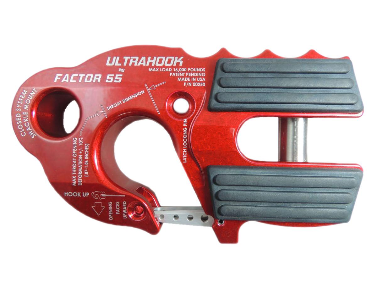 Крюк красный Factor 55, FC00250-01