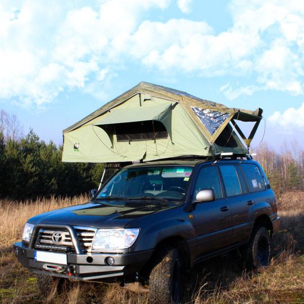 Автомобильная палатка на крышу Wild Camp Missisipi 160 см