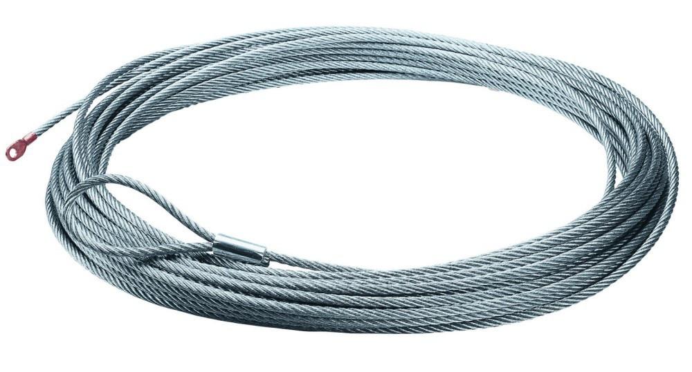 Сменный трос Warn для лебедки Zeon 24 м х 9.5 мм 89213