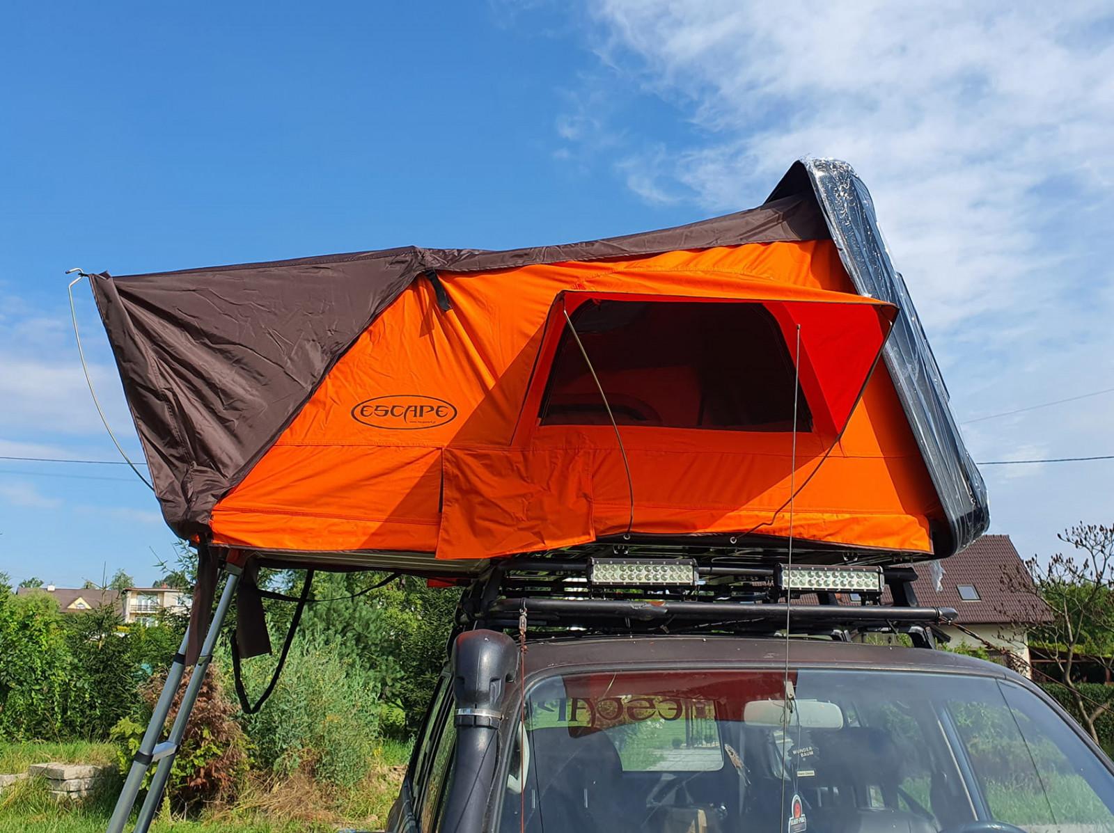 Автомобильная палатка на крышу Escape Vario 160 см