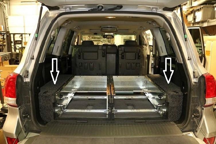 Боковая окантовка к выдвижным ящикам TLC200 ARB 200FK