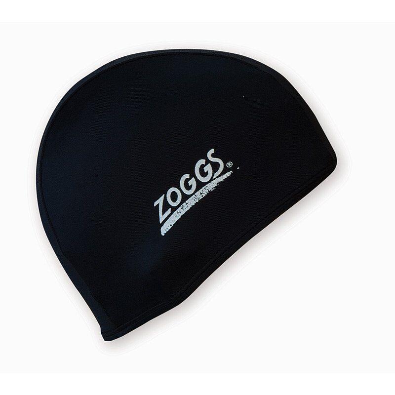 Шапочка для плавання ZOGGS Stretch Cap, Black (300607BLK)