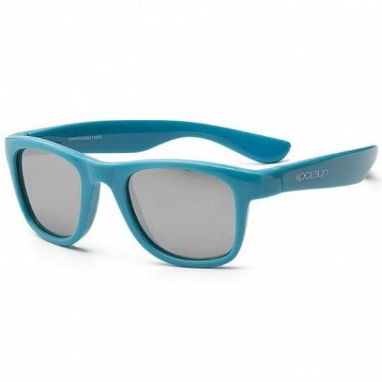 Дитячі сонцезахисні окуляри Koolsun блакитні серії Wave (Розмір: 3+)