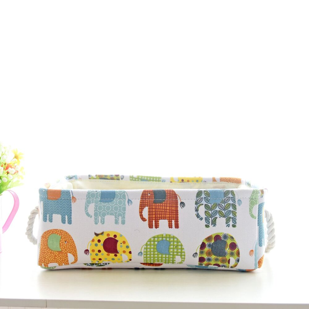 Корзина для игрушек Слоны Berni