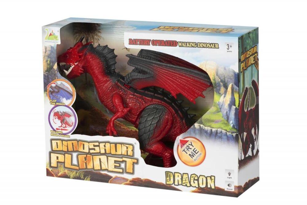 Динозавр Same Toy Dinosaur Planet Дракон (світло, звук) червоний без п/к RS6169AUt