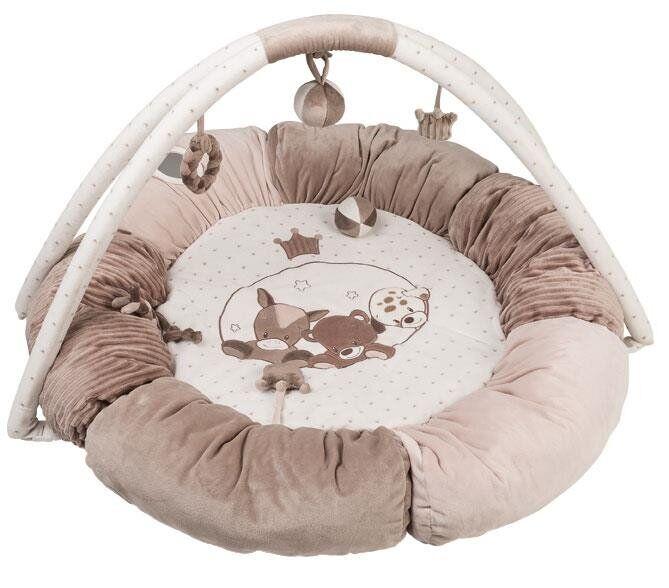 Nattou Килимок розвиваючий з дугами і подушками Макс, Ноа і Том 777322