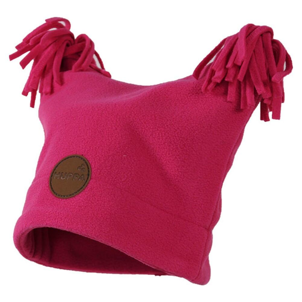 Флисовая шапка, двухслойная WILLIAM fuchsia HUPPA