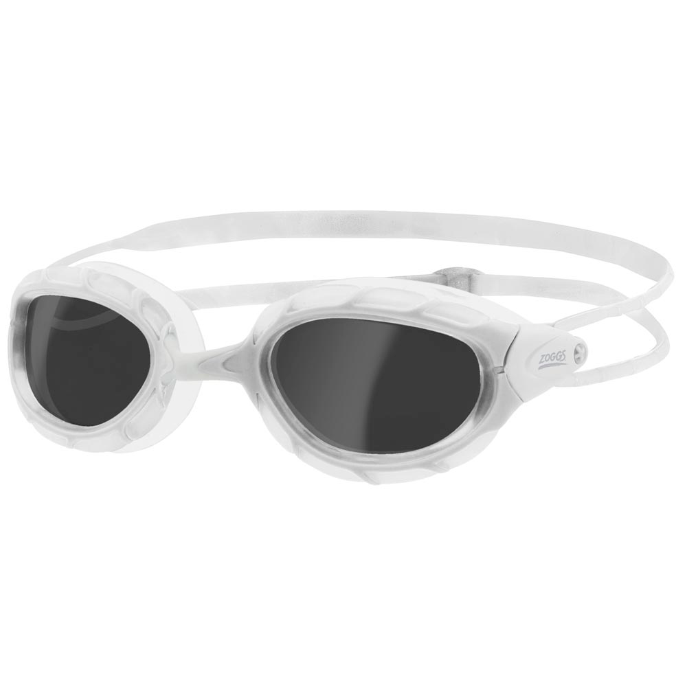 Окуляри для плавання ZOGGS Predator Smoke / White (330863)