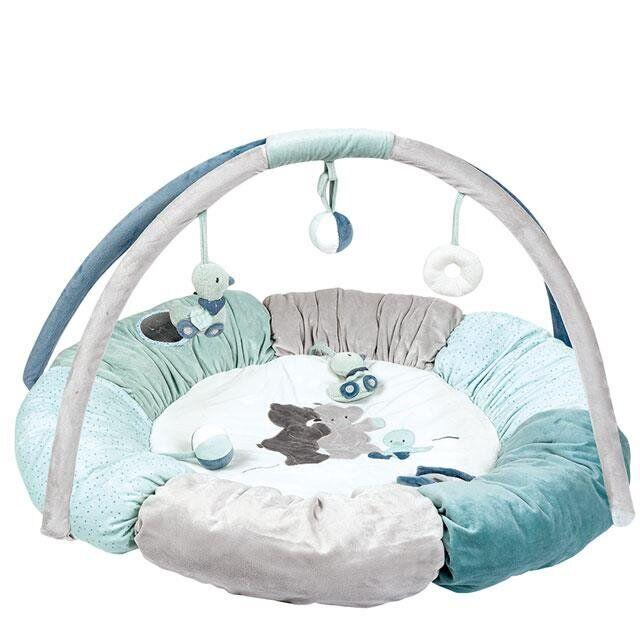 Nattou Килимок розвиваючий з дугами і подушками Джек, Юлій і Нестор 843270