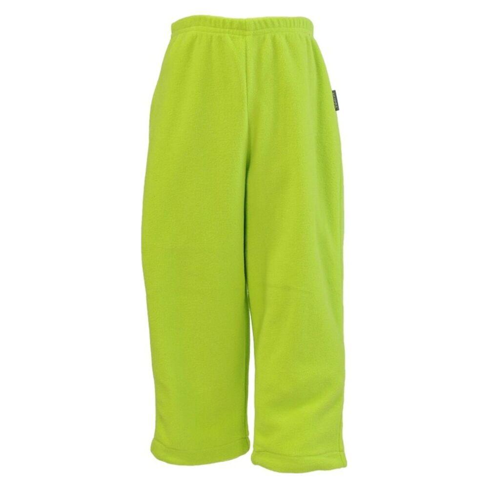 Детский флисовыe штаны BILLY, лайм 00047, размер 122