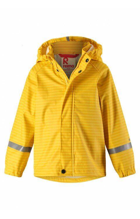 Жёлтый дождевик Vesi Reima 104