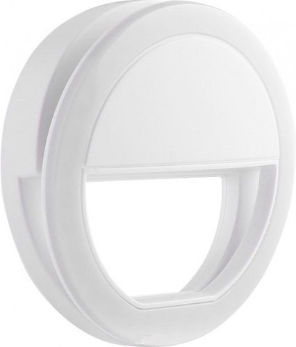 Селфі-кільце Protech Selfie Ring Light White + батарейки в комплекті