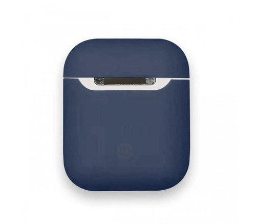 Чехол для AirPods silicone case Slim Midnight blue