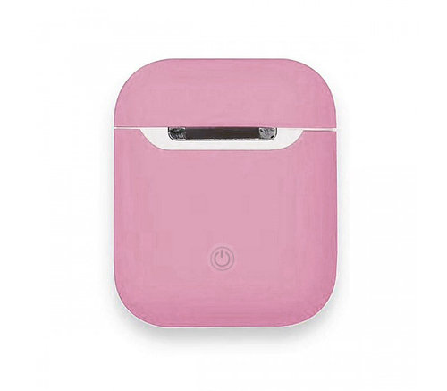 Чехол для AirPods silicone case Slim Pink