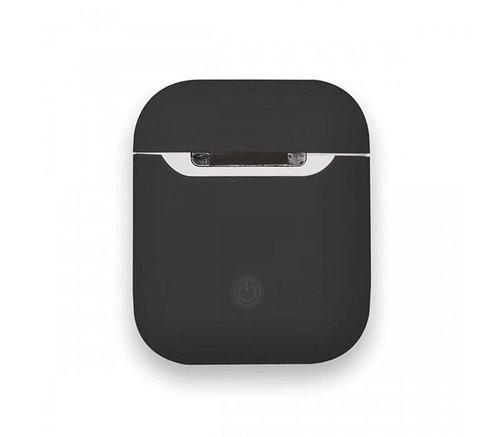 Чехол для AirPods silicone case Slim Black