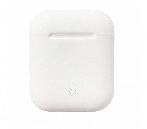 Чехол для AirPods silicone case Slim White