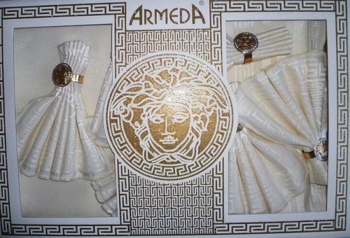 Скатерть Armeda 160-300 см ванильная