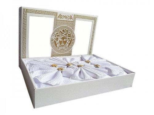 Скатерть Armeda 160-300 см белая