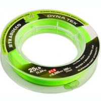 Шнур Trabucco Dyna-Tex 4X Power Lime-Yellow 150м 0,100мм 4,54кг