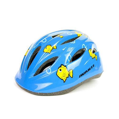Велосипедный шлем детский синий