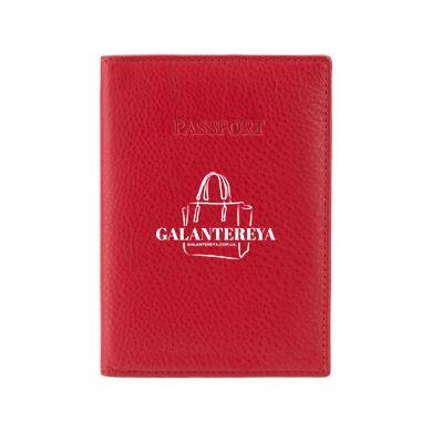 Кожаная обложка для паспорта Visconti 2201 (red)