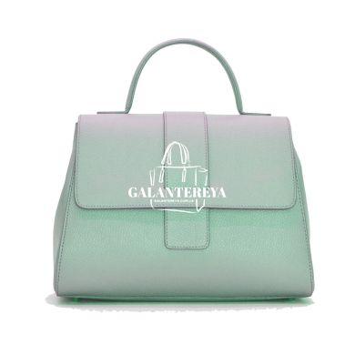 Женская кожаная сумка Italian fabric bags 2304 blue
