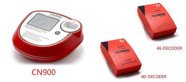 CN900 оригинал. Программатор автомобильных ключей, работает с 4D и ID-46 транспондерами (чипами)