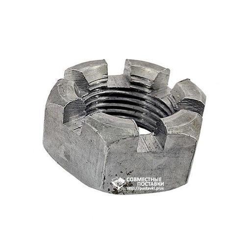 Гайка пальца гидроцилиндра ЦС-50 (корончатая) М24х2