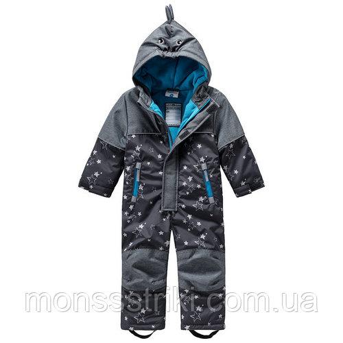 Детский зимний термокомбинезон для мальчика 12-18, 18-24 месяца