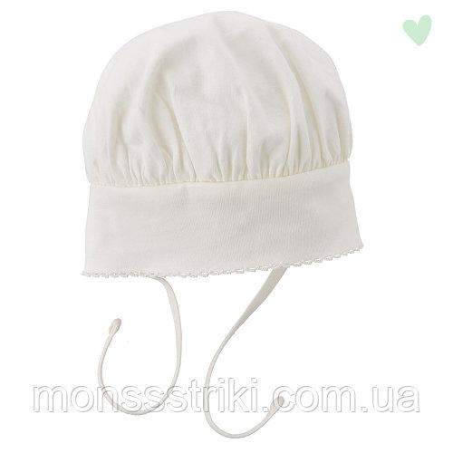 Трикотажная шапочка для новорожденного 1-2, 4-6 месяцев