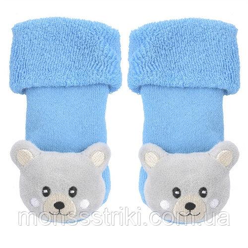 Носочки-погремушки для малыша 2-6 месяцев