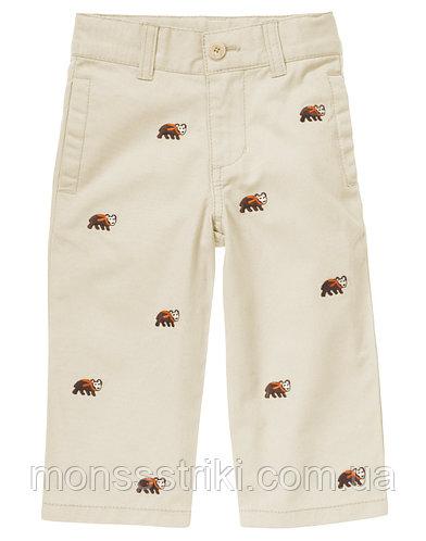 Детские брюки для мальчика 6-12, 12-18, 18-24 месяца, 2 года