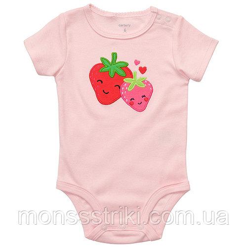 Детский бодик для девочки 3, 12 месяцев
