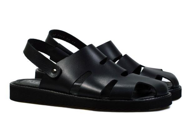 Мужские сандали черные 40 размер 6009-40