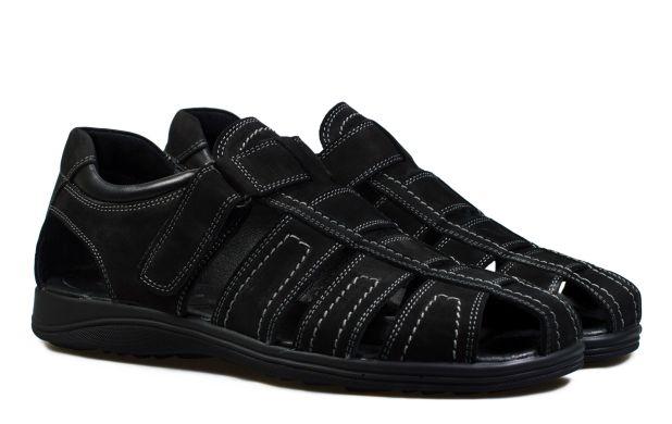 Мужские сандали черные 45 размер 6037-45